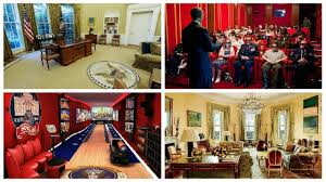 The White House Interior by Look How Many Rooms Are In The White House Youtube