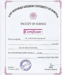 M S University by Achievements May 2005