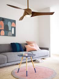 koa wood ceiling fan 147cm fan with light in dark koa