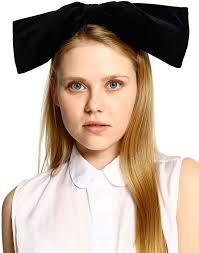 velvet headband american apparel california select originals velvet oversized bow