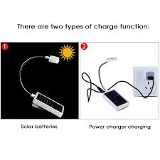 how to charge solar lights indoor indoor led solar battery desk light flashlight mini portable book