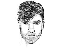 guys haircuts diamond face the perfect men s hairstyle haircut for a diamond face shape