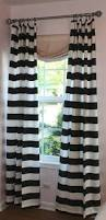 Tan And White Horizontal Striped Curtains How To Spice Up The Room With Black And White Striped Curtains