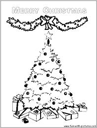 happy christmas tree clipart 40