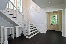 Stairwell Banister London Stair Banister Ideas Staircase Modern With White Railing
