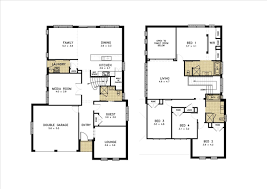 Rest House Design Floor Plan by Exellent 4 Bedroom Floor Plans With Dimensions Plan Friday 3