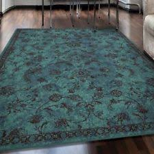 floral area rugs ebay