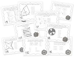 7th grade math staar prep task cards best data collection