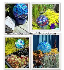 make the best of things diy garden art super easy glass garden