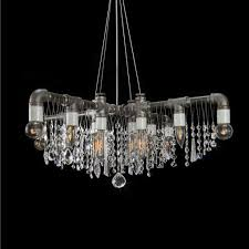 Industrial Crystal Chandelier Industrial Swarovski Crystal Chandeliers Pendants Lamps And Sconces