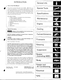 honda civic service manual 96 98 documents