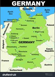 Map Of German States by Map Of Gernany Major Tourist Attractions Maps