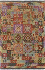 Rust Area Rug Bloomsbury Market Rosalina Handmade Kilim Wool Purple Rust Area