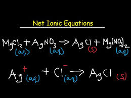 net ionic equation worksheet and answers youtube