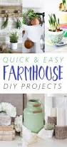 quick and easy farmhouse diy projects farmhouse style craft and