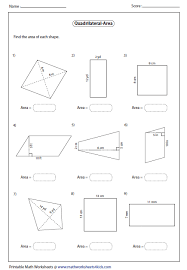 area of a polygon worksheet free worksheets library download and