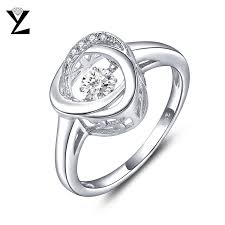 fashion wedding rings images Yl silver 925 sterling engagement rings fine jewelry argent jpg