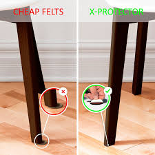 Hardwood Floor Furniture Grippers by X Protector Premium Two Colors Pack Furniture Pads 133 Piece Felt