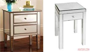 100 mirrored glass bedside cabinets elegant luxury table
