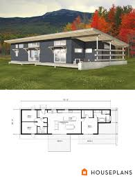 modern style house plan 3 beds 2 00 baths 1356 sq ft plan 497 57
