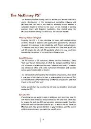 Management Consulting Resume Cover Letter Mckinsey Mckinsey Cover Letter Sample Mckinsey
