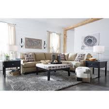 Ashley Raf Sofa Sectional Ashley Furniture Larkhaven Raf Sectional Sofa With Corner Wedge In