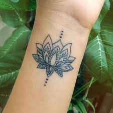awesome looking flowers collection of 25 flower and symbol wrist tattoos
