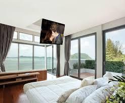 tv a soffitto tv in da letto dove collocarla consigli camere da letto