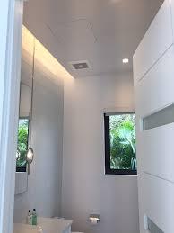 Bathroom Ceilings Guest Bathroom Ceiling Access Hidden Access Panel New American