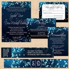 midnight blue wedding band midnight blue sky invitation rsvp inserts address
