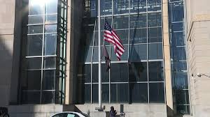 Federal Flag Half Mast Flags Fly At Half Staff In Remembrance Of Pearl Harbor Attack