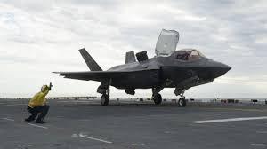 Lockheed Martin Service Desk Marines Testing F 35b Stealth Jets Aboard San Diego Based Uss