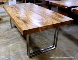 wood table with metal legs fabulous wood top dining table metal ideas with table legs metal