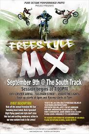 freestyle motocross events mx poster