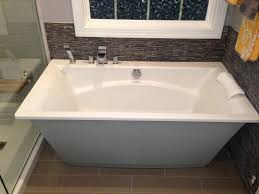 Bathtubs Free Standing Bathtubs Outstanding Kohler Freestanding Jetted Tub 145 Bianca