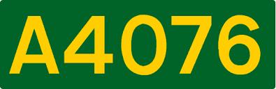 A4076 road