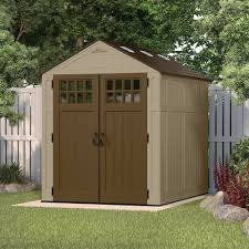 Suncast Resin Glidetop Outdoor Storage Shed by Resin Storage Shed Arrow Shed Lx1014 A Lexington 10 Feet By 14