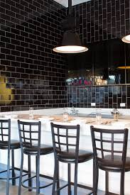design dose black tile bar restaurant restaurants