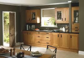 New Cabinet Doors Brown Textured Wood Cabinet Combine Black Countertop Shaker Style