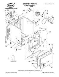parts for roper red4440vq1 dryer appliancepartspros com