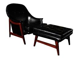 black leather club chair and ottoman furniture striking black leather traditional chair with oversized