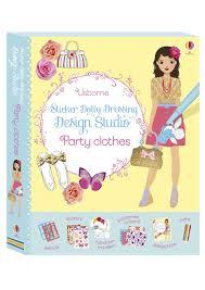 sticker dolly dressing design studio party clothes u201d at usborne