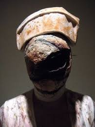 Silent Hill Nurse Halloween Costume Painting Silent Hill Nurse Mask Pantyhose Gauze