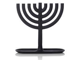 simple menorah new cast iron menorah for the season inhabitots