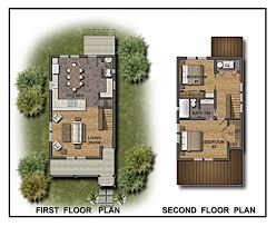 Site Floor Plan Color 2d Graphics Floor Plans