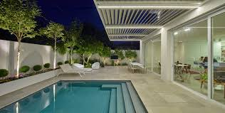 Patio Roof Ideas South Africa by Adjustable Louvre Roof Systems Vergola Australia