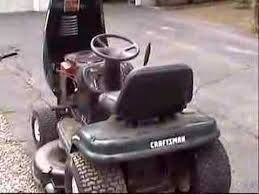 50 of awesomeness our new craftsman lt1000 lawn tractor youtube
