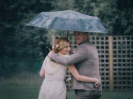 Rain Main - how to cope with rain on your wedding day planning tips plan