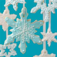 snowflake cookie ornaments recipe taste of home