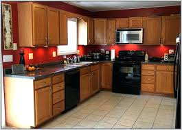 kitchens with black appliances and oak cabinets kitchen colors with black appliances kitchen paint colors with oak
